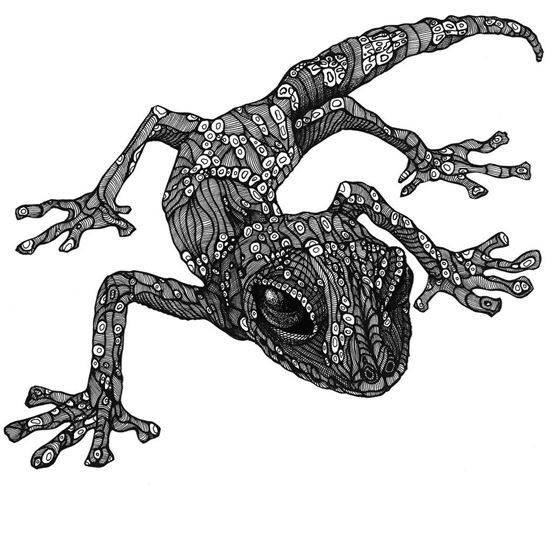 Picture of Lizard art by Deltakappadesign