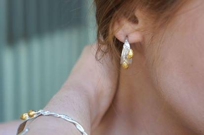Olive Leaf Earrings, Real Olive Leaf, Greek Earrings, Mother Nature