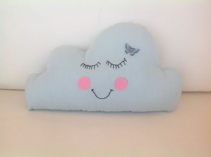 Picture of Cloud-Handmade kids cushion by Elena Farini