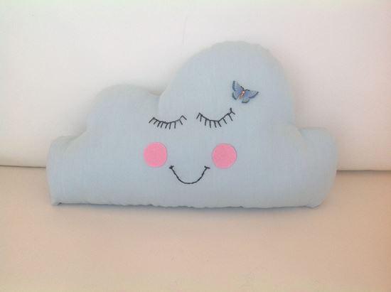 Picture of Cloud-Handmade kids cushion by Elena Farini