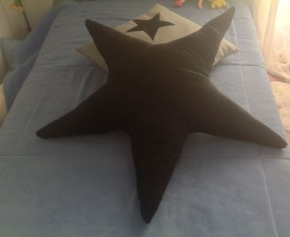 Picture of Star-Handmade kids cushion by Elena Farini