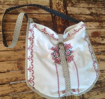 Picture of Cretan traditional oval bag